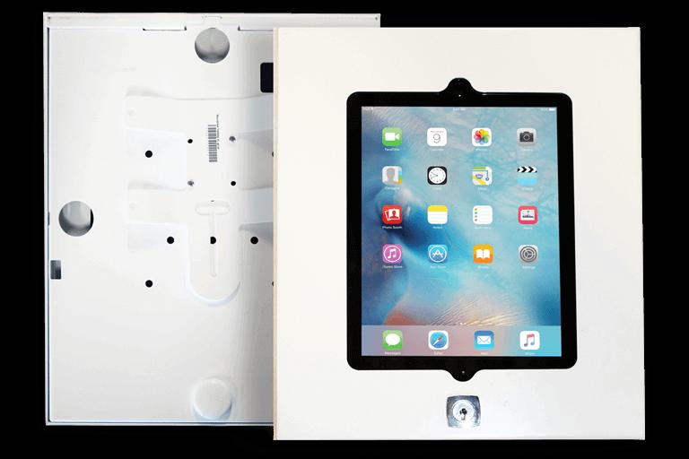Tabboy wandhouder voor Apple iPad - iPadhuren.nl
